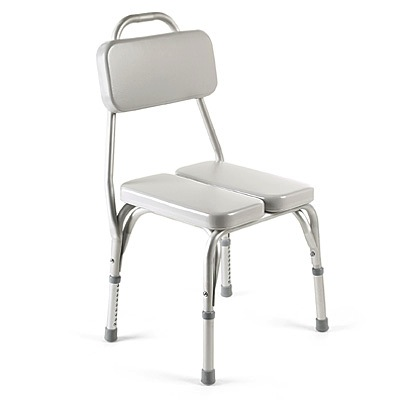 Invacare Vinyl Padded Shower Chair 9872 at IndeMedical