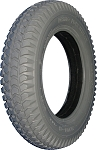 "Primo Power Trax Foam Filled Wheelchair Tire, 14 x 3"" (3.00-8)"