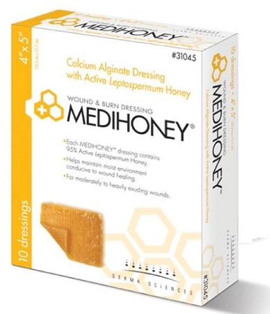 medihoney calcium alginate dressing instructions