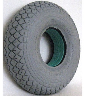 "Primo Diamond Foam Filled Tire - 12 1/4 x 4"" (4.00-5)"