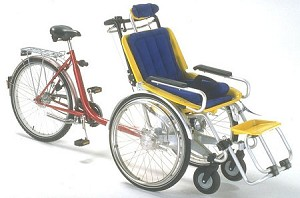 The Duet Tandem Wheelchair Bicycle
