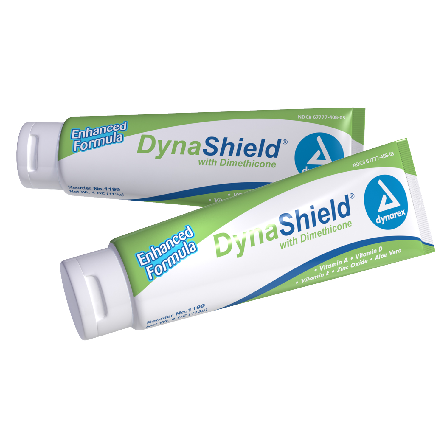 Dynarex DynaShield Skin Protectant Cream w/ Dimethicone 4 oz Tube