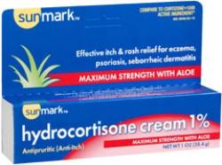 sunmark® Hydrocortisone Cream