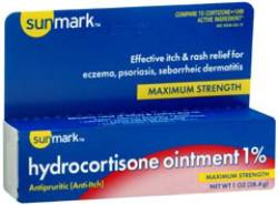 Sunmark Maximum Strength Hydrocortisone Ointment - 1 oz. Tube