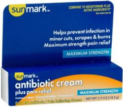 Antibiotic Cream Plus Pain Relief - .5 Ounce
