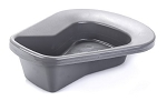 McKesson Graphite Stackable Bedpan