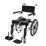 ActiveAid 922 Folding Shower Commode Chair