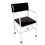 ActiveAid 277 Stainless Steel Tub Commode Chair