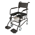 ActiveAid 605 Shower Commode Chair with 5