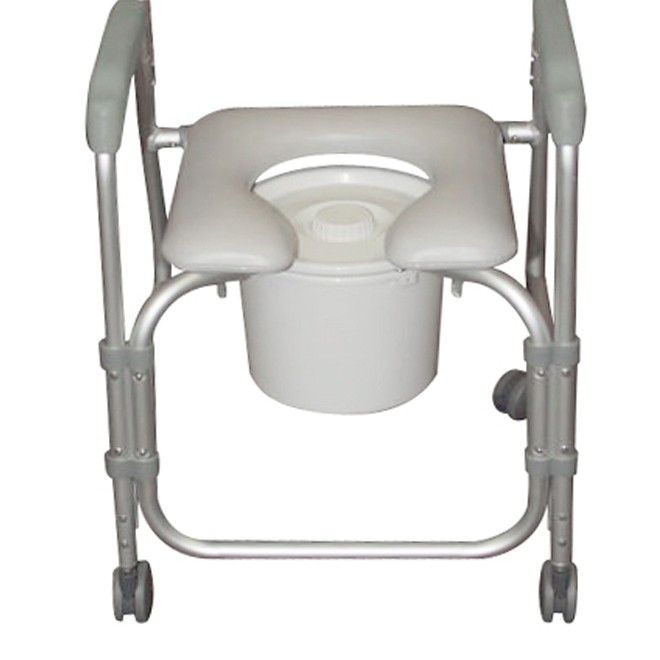 Quick View  sc 1 st  IndeMedical.com & Drive Portable Shower Chair Commode with 3