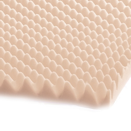Val Med Eggcrate Convoluted Foam Bed Pad Overlay At