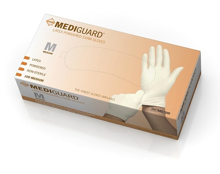 Non-Medical//Non-Food//Powdered Latex Disposable Gloves by the CASE 1000 gloves