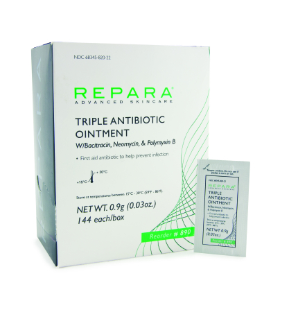 Repera Triple Antibiotic Ointment at IndeMedical com