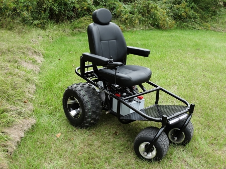 The nomad all terrain power wheelchair for All terrain motorized wheelchairs