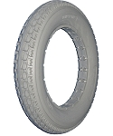 Urethane Knobby Wheelchair Tire, 12 1/2 x 2 1/4