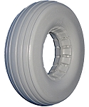 Urethane Multi-Rib Wheelchair Tire - 8 x 2-1/4