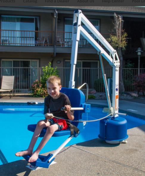 Aqua Creek Scout 2 Pool Lift F 802sc2 At Indemedical Com