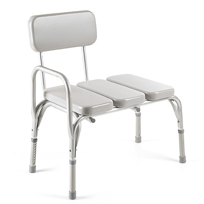 Invacare Padded Vinyl Transfer Bench At