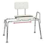 Snap-N-Save Classic Sliding Transfer Bench