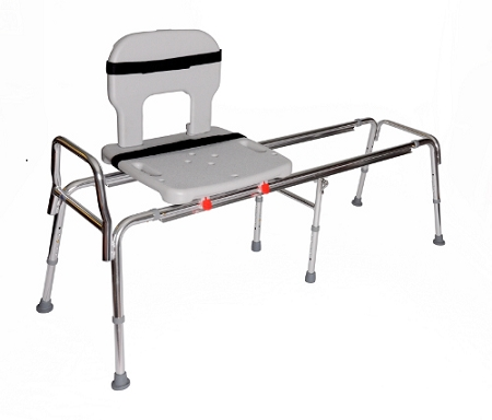 Snap N Save Toilet To Tub Sliding Transfer Bench 67992 At