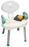 Carex E-Z Bath Shower Chair with Handles