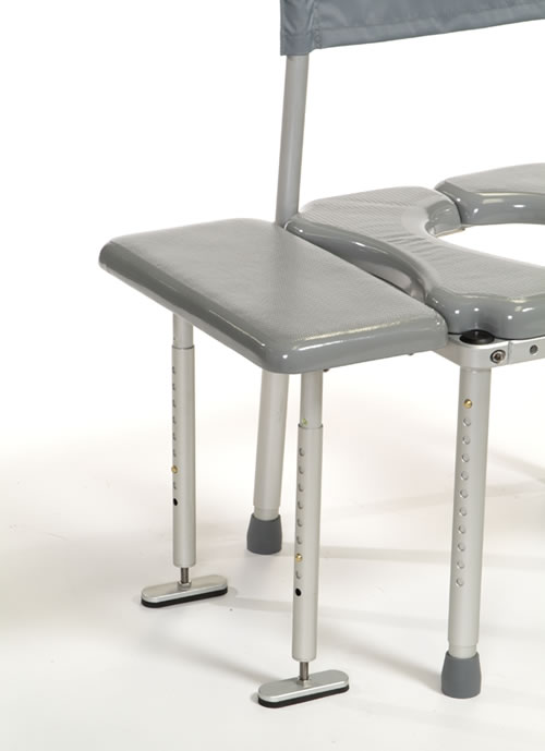 multichair 4000 roll in shower commode chair