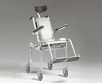 muliCHAIR 4000Tilt Pediatric Roll-in Shower/Commode Chair with Tilt-in-Space