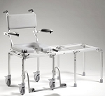 multiCHAIR 6000 Tub  Commode Slider System with Carrying Case