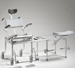 multiCHAIR 6000Tilt Pediatric Tub / Commode Slider System with Tilt-in-Space