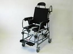 ActiveAid Modular Growth Tilt in Space Shower Commode Chair