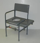 ActiveAid Series 277 Stainless Steel Tub/Commode Chair