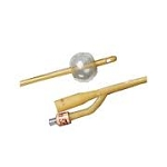 Bard Bardex Lubricath 2-Way Short Round Foley Catheter - 16 Fr. 30 cc