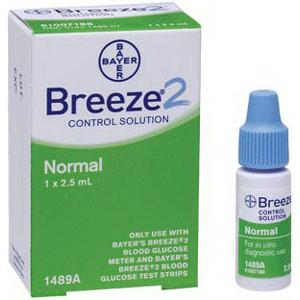 Bayer S Breeze Glucose Control Solution 2 5 Ml At