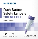 McKesson Push-Button Safety Lancets