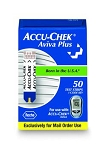 ACCU-CHEK Aviva Plus Test Strips - Box of 50