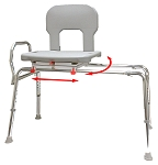 Eagle Bariatric Swivel Sliding Transfer Bench