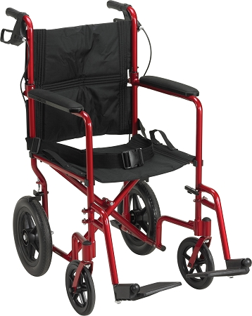 Aluminum Transport Chair w/ 12