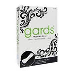 Gards Folded Maxi Pads - Case of 250
