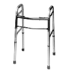 Heavy Duty Deluxe 2 Button Folding Walker
