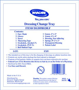 Central line dressing change kit with tegaderm for Photo dressing change