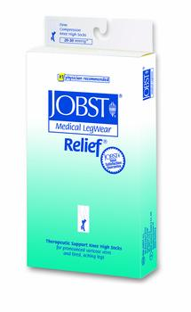 Jobst Relief Knee High Medical Legwear, 20 - 30 mmHg