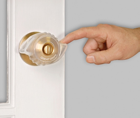 Great Grips Doorknob Covers At Indemedical Com