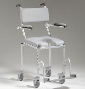 multiCHAIR 4000 Roll-in Shower Commode Chair