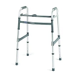 McKesson Single Release Adult Folding Walker