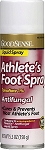 GoodSense Athlete's Foot Spray - 5.3 oz. Can