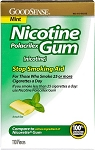 GoodSense Nicotine Mint Gum - Box of 100