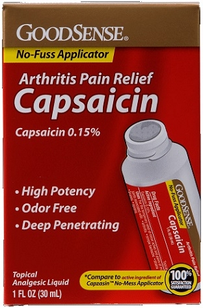 Goodsense Capsaicin Arthritis Pain Relief Pq00267 At