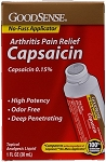GoodSense Capsaicin Arthritis Pain Relief - 1 oz. Tube