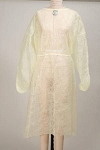 McKesson Yellow Unisex Protective Procedure Gown