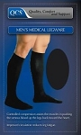 Black Knee-High Closed Toe Compresson Socks